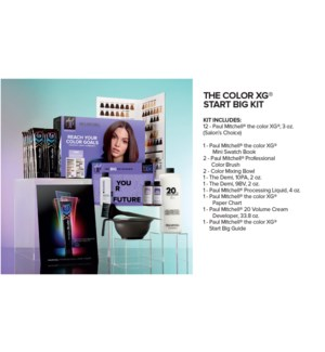 The Color XG Start Big Kit + CHOOSE 12 XG COLOR JF2020