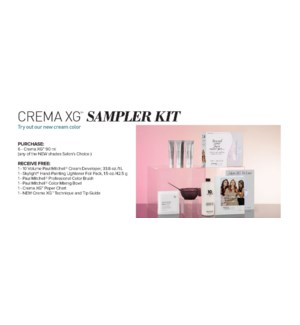 ! Crema XG Demi  Sampler Kit CHOOSE 5 CREMA XG COLOR ND2020