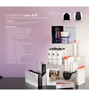 ! Complete Crema XG Demi Salon Kit CHOOSE 72 CREMA XG & 72 XG COLOR