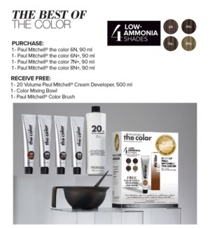 The Best Of The Color Kit PM JF2021 TCBT21