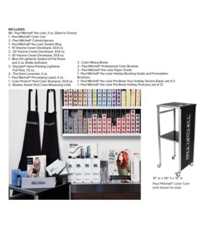 * The Color Kit With Color Cart SO19
