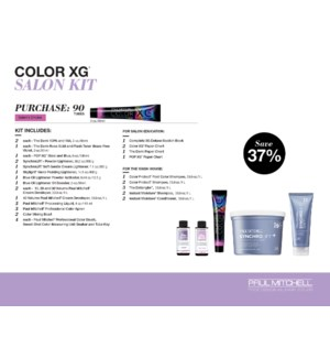 The Color XG Salon Kit  (1 BOX )  & CUSTOMER CHOOSE 84 COLOR