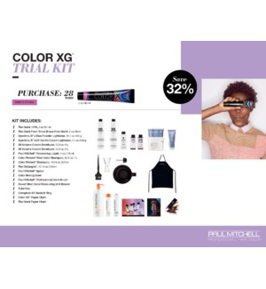 ! The Color XG Trial Kit (24 tubes per kit)