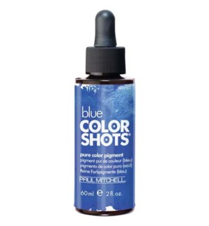 60ml Blue Color Shots Pure Color Pigment PM 2oz