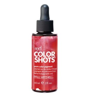 60ml Red Color Shots Pure Color Pigment PM 2oz