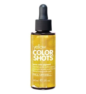 60ml Yellow Color Shots Pure Color Pigment PM 2oz