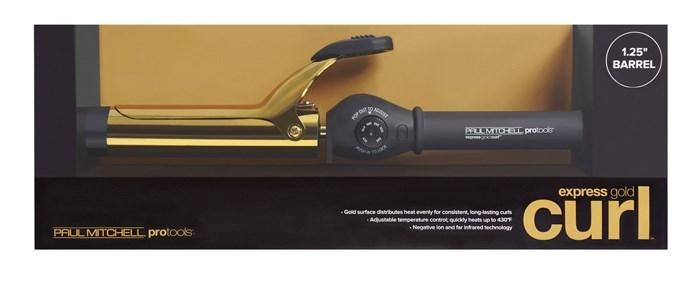 Express Gold Curl 1.25 Inch Barrel