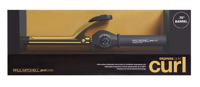 Express Gold Curl .75 Inch Barrel