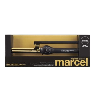 Express Gold Curl Marcel 1 Inch Barrel