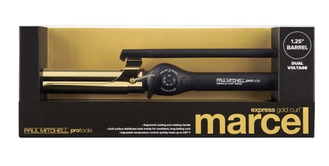 Express Gold Curl Marcel 1.25 Inch