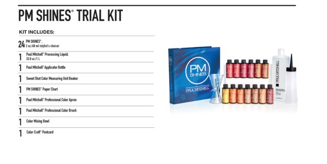 PM Shines Trial kit (minimum purchase of 24 bottles)