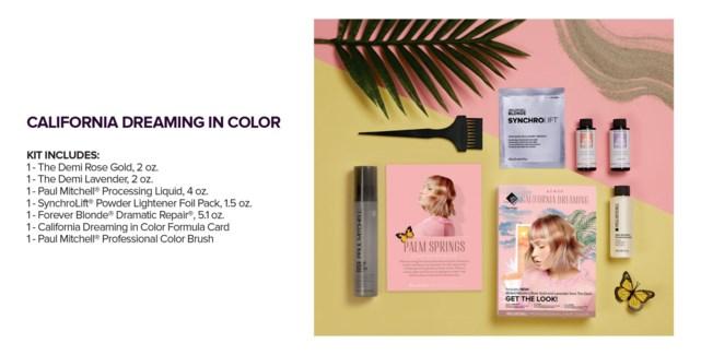 CALIFORNINA DREAMING In Color Kit MJ19