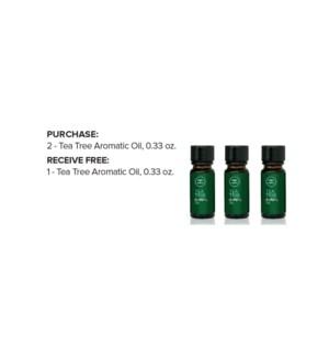 ! 2+1 10ml Tea Tree Aromatic Oil ND19