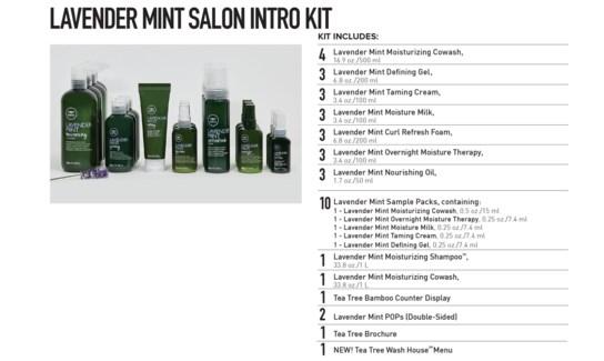 NEW Lavender Mint Salon Kit MJ19