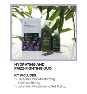 Lavender Mint Hydrating & Frizz-Fighting Duo SO19