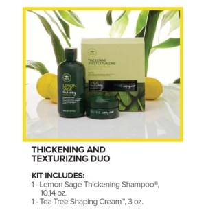 Lemon Sage Thickening & Texturizing Duo SO19