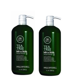 ! 2+1 Ltr Tea Tree Hair & Body Moisturizer ND19