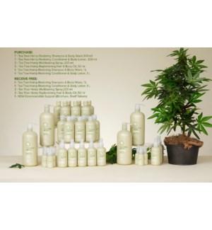 ! Tea Tree Hemp Salon Intro Kit SO2021