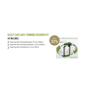 Anti-Thinning Scalp Care Regimen Kit