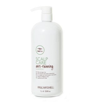 NEW! Litre TeaTree Anti-Thinning Shampoo 33.8oz