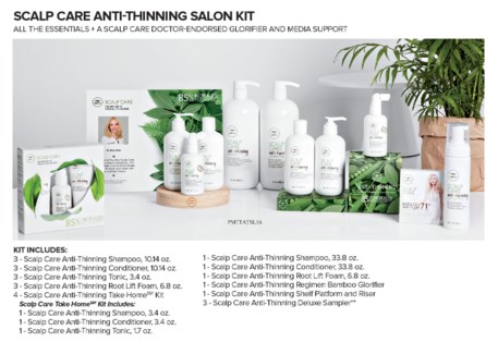 *BF TEA TREE ANTI THINNING SALON KIT