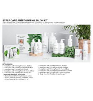 * TEA TREE ANTI THINNING SALON KIT