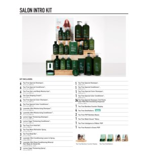 Tea Tree Experience Salon Kit TTESLN19
