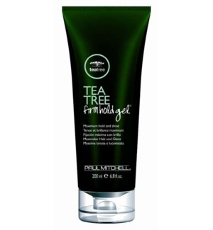 200ml Tea Tree Firm Hold Gel PM 6.8oz