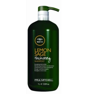 Litre Lemon Sage Thickening Shampoo 33.8oz