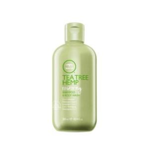 @ 300ml Tea Tree Hemp Restoring Shampoo & Body Wash PM