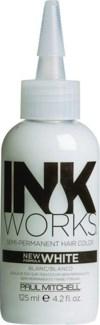 125ml White Inkworks Semi-Permanent Color PM 4.2oz FP