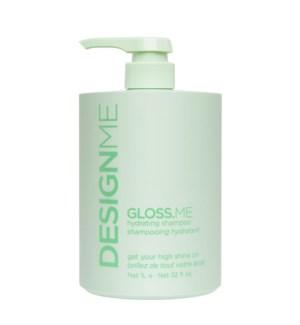 DM Gloss ME Hydrating Shampoo Litre  JF2020
