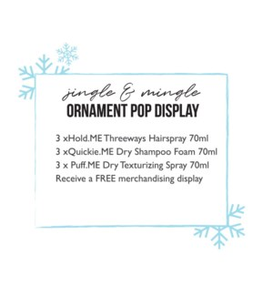 DM Jingle & Mingle Ornament Display HD19