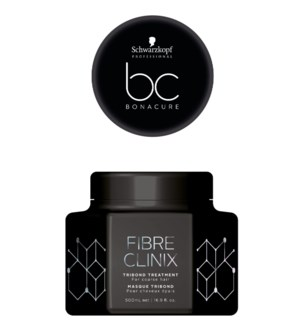 NEW 500ml BC Fibre Clinix Mask COARSE HAIR TRI BOND