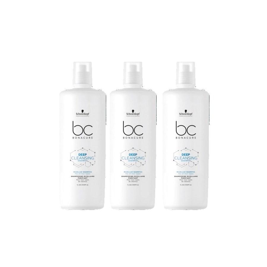 ! 2+1 Ltr BC MICELLAR Deep Cleanse Shampoo JF2020