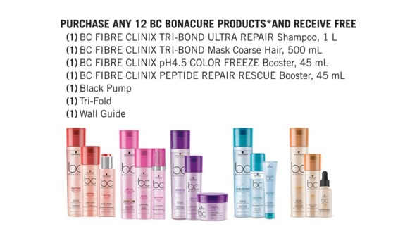! BC Fibre Clinix Kit BUY12 BC PRODUCTS MJ19