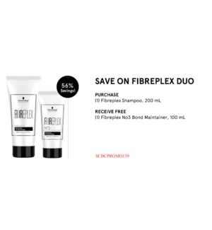 ! 1+1 200ml FibrePlex Shampoo + 100ml Fibreplex No3 Bond Maintainer WINTER DEAL 2020