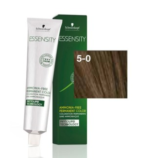 New Essensity 5-0 Light Brown Natural 60ml