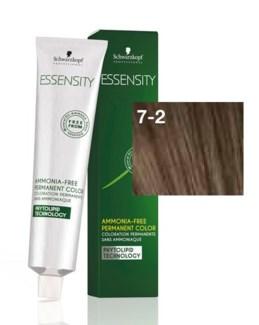 New Essensity 7-2 Medium Blonde (Lighting Shade) 60ml