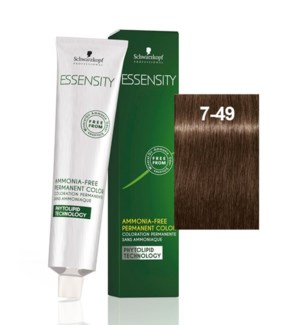New Essensity 7-49 Medium Blonde Beige Violet 60ml