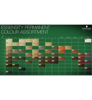 Essensity Color Chart
