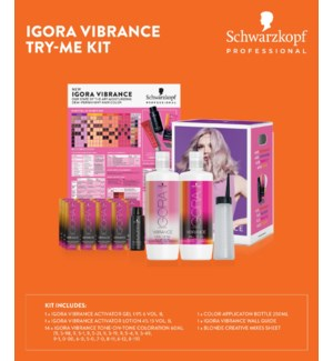 * IGORA Vibrance Try Me Kit MJ19 2499602