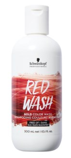 300ml Bold Color Wash RED
