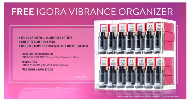 ! IG Vibrance Organizer BUY24COLOR SO18