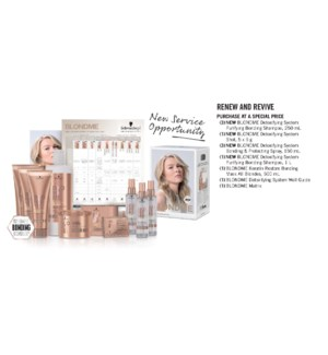 BM BLONDME Detoxifying Collection Kit DETOX