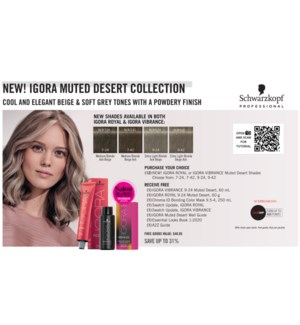 ! IG MUTED DESERT Collection BUY 12 MUTED DESERT COLOR ND2020