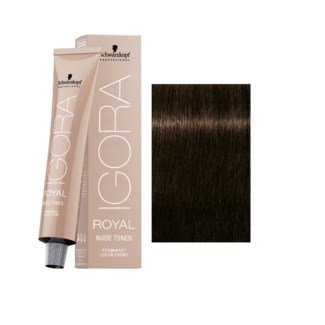 4-46 Medium Brown Beige Chocolate Nude Tones Igora Royal