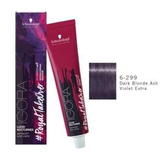 6-299 Dark Blonde Ash Violet Extra RTO Igora Royal