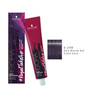 6-299 Dark Blonde Ash Violet Extra RTO Igora Royal