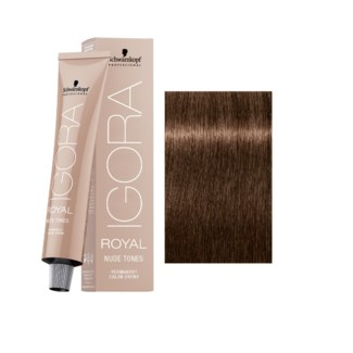 6-46 Dark Blonde Beige Chocolate Nude Tone Igora Royal